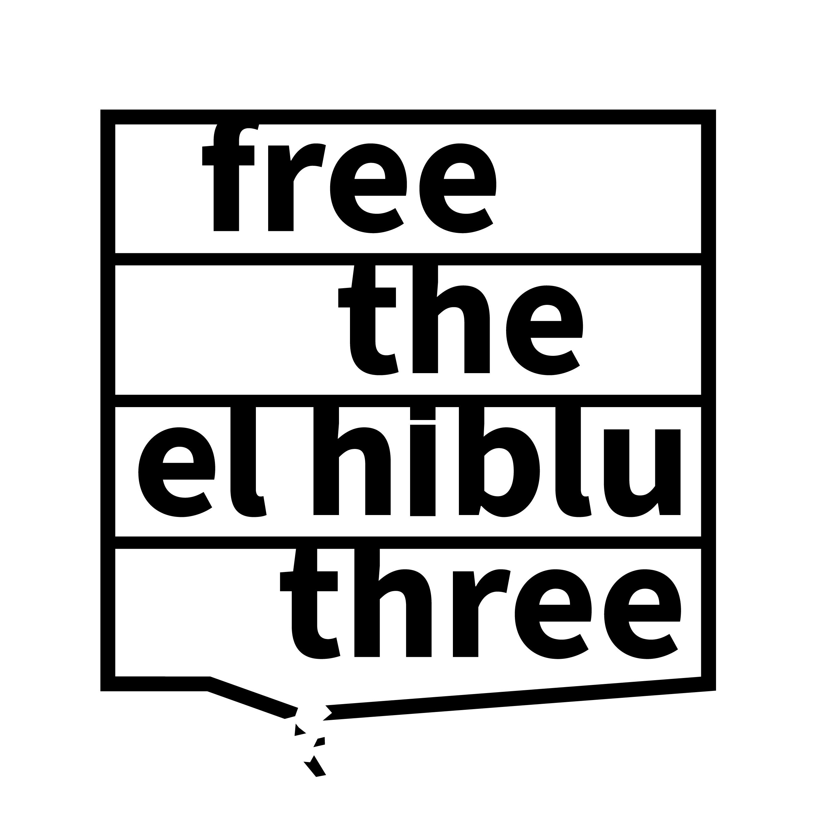 Logo della campagna Free El Hiblu 3